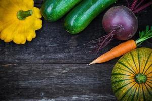 légumes frais de jardinage bio photo