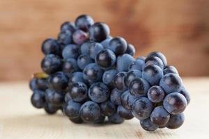 grappe de raisin bleu photo