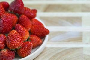 fraise. photo