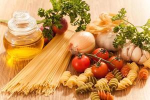 spaghetti aux pâtes photo