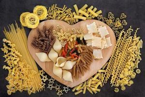 variétés de pâtes photo