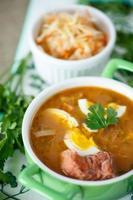 soupe aux choux photo
