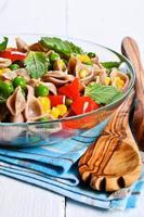 pâtes aux légumes photo
