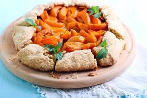 tarte aux abricots photo