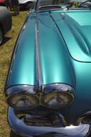 travail de peinture personnalisé sur hot rod voiture classique