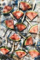tranches de pastèque