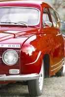 voiture suédoise vintage photo