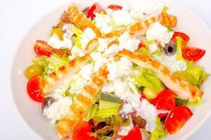 salade de poulet au fromage feta
