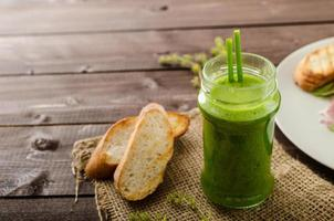 smoothie aux herbes