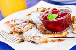 dessert aux crêpes photo