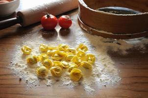 raviolis italiens à la ricotta et aux légumes