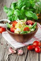 salade d'été fraîche