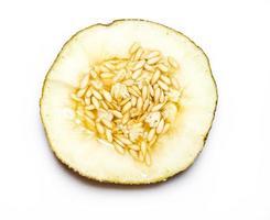 melon isolé sur fond blanc.