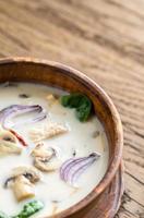 soupe à la crème de noix de coco thaï