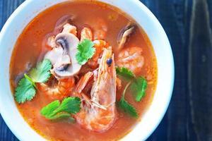 soupe tom yam