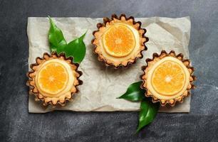 tarte à la main, tartelette au citron caillé