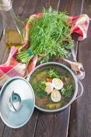 soupe fraîche photo