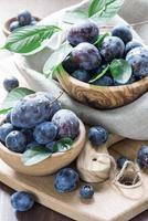 prunes mûres