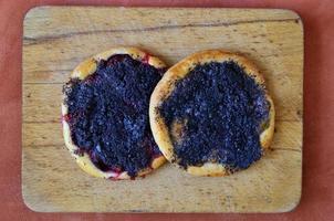 gâteaux aux prunes photo