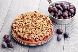 gâteau à la prune