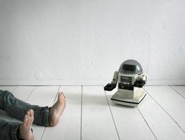 Monsieur. robotiste photo