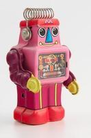 vue de quart de robot photo