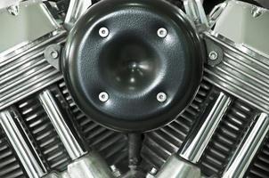 moteur de moto. photo