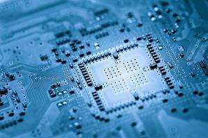 carte de circuit informatique, fond de conception web photo