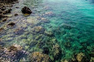rochers dans la mer photo