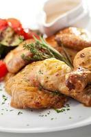 poulet tabaka photo