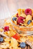 cornflakes aux fruits frais