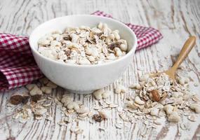 céréales aux raisins secs photo