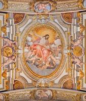 rome - ascension du seigneur fresque