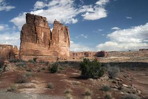 mesa dans le désert