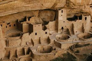 ruines anasazi du parc national de mesa verde photo
