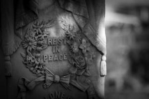 repose en paix pierre tombale
