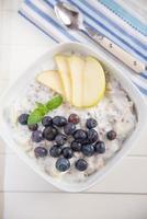 granola aux bleuets photo