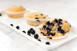 muffin aux myrtilles photo