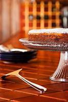 gâteau aux myrtilles photo