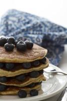 Pancakes aux myrtilles photo