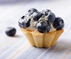 tarte aux bleuets frais