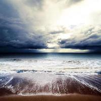 temps d'été - cyclone photo