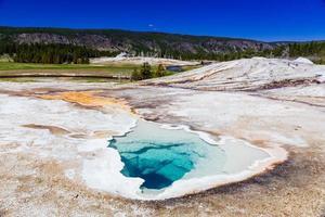 le parc national de Yellowstone photo