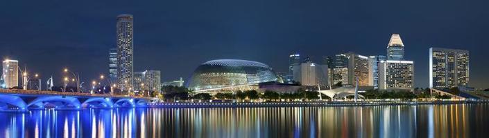 paysage urbain de singapour photo