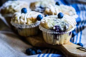 muffins à la myrtille photo