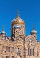 église de l'hypothèse, île vasilevsky, petersburg photo