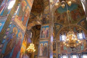 Saint-Pétersbourg à l'intérieur de l'église photo