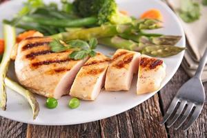 filet de poitrine de poulet photo