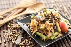 salade de papaye thaï photo