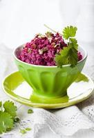 salade de betteraves photo
